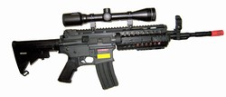JG M4 RIS System w/ Scope 3x9-32 Long Range Shooter