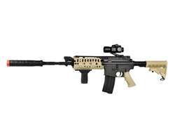 JG M4 S-System TAN Airsoft Gun Special Ops Package Airsoft Electric Gun JG-F6613