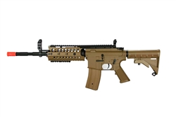 JG M4 S-System Coyote Tan Enhanced Version Airsoft Electric Gun JG-F6613 Limited Edition