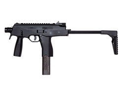 KWA KMP9 SMG NS2 Gas Blow Back Airsoft Gun with Foregrip (Black)