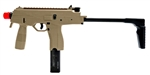 KWA KMP9 SMG NS2 Gas Blow Back Airsoft Gun with Foregrip (Desert Tan)