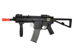 Lancer Tactical M4 PDW Airsoft Gun 400 Fps Combat Ready LT-08