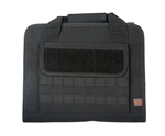 Lancer Tactical MOLLE Soft Padded Pistols Carrying Case (Black)