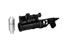 Lancer Tactical Full Metal GP-25 AK Airsoft Grenade Launcher with VOG-25 40MM BB Shower Round