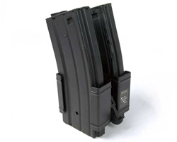 MetalTac M4 M16 Dual Hi-Cap 600-Round Magazine Set with Magazine Clamp