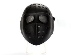 Hockey Style Full-Face Protection Mask (Black)
