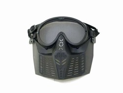 MetalTac Metal Mesh Airsoft Saftey Protection Mask (Fog Proof Wired Lens)