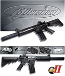 SRC TSD M4 Crane Stock Full Metal RIS Airsoft Electric Gun
