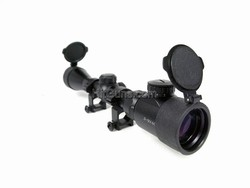 AIM  rifle scope 3-9x40 illuminated with flip up filter