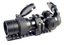 Red Dot Scope 1.5 x 30 Tactical w/ Tri Mount Ring