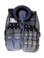 Tactical Vest with 10 Magazine pouches + Neck cushion
