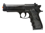 BBTac M757 Black Airsoft Spring Pistol 150 FPS Spring with Molded Ergonomic Hand Grips Airsoft Gun