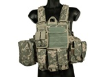 MetalTac Heavy Duty Digitalized Camo Plate Carrier Tactical Vest