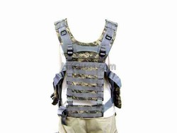 Army Style Vest Green Camo Color