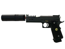 WE 4.3 HI-CAPA Full Metal Gas Blow Back Pistol Airsoft Gun Tracer Package