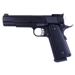 WE Full Metal P14 Combat Hi-Capa 5.1 Gas BlowBack Airsoft Gun with Green Gas Magazine