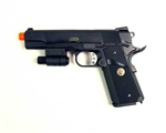 WE 1911 MEU Tactical w/ Laser Full Metal Gas Blow Back