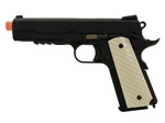 WE 1911 Desert Raider Tactical Full Metal Gas Blow Back Airsoft Gun (Railed)