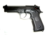 WE Full Metal M9 Gas BlowBack Single/Double Airsoft Gun (Black)