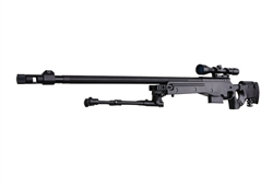 Well G-96 Airsoft Gas Powered 450 FPS Sniper Rifle with Scope and Bipod package