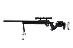 Well MB05 G-22 AWM APS-2 Airsoft Sniper Rifle w/ 3-9x40 Scope & Bi-Pod Upgraded to 500+ FPS