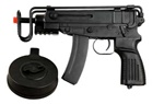 WELL Scorpion VZ-61 with Drum Magazine Airsoft Electric SMG [R2C]