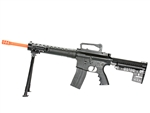 BBTac MK12 SPR Spring Airsoft Sniper Rifle with Spring Bipod and Mock Scope BT-78