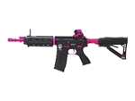 "G&G GR4 GR26 ""Black Rose"" Electric Blow Back Airsoft Gun (Metallic Black/Pink)"