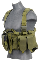 Lancer Tactical CA-306 Tactical Plate Carrier Vest (Olive Drab)