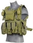 Lancer Tactical CA-307 Modular Chest Rig (Olive Drab)