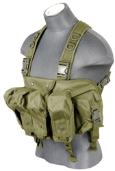 Lancer Tactical CA-308 Integrated AK Chest Rig (Olive Drab)