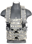 Lancer Tactical CA-309 Integrated Mag Pouch Chest Rig (ACU)