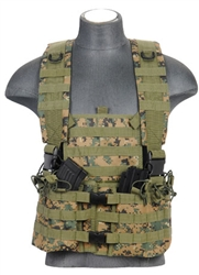 Lancer Tactical CA-309 Integrated Mag Pouch Chest Rig (MARPAT)