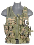 Lancer Tactical CA-310 Cross-Draw Tactical Vest (MARPAT)