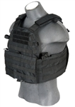 Lancer Tactical CA-311 Tactical Strike Plate Carrier Vest (Black)