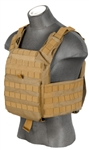 Lancer Tactical CA-313 Speed Attack Plate Carrier (Tan)