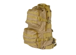 Lancer Tactical MOLLE Multi-Purpose Backpack (Tan)