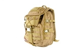 Lancer Tactical MOLLE Laptop Backpack (Tan)