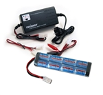 Power Package - 9.6v 1600 mAh Flat Battery & Smart Charger