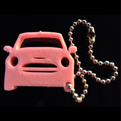 3D MINI Cooper S Key Dangle