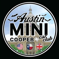 Austin MINI Cooper Car Club Vinyl Decal