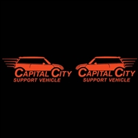 Capital City MINIs Support Vehicle Left Right Set