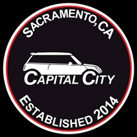 Capital City MINIs Club Grill Magnetic Grill Badge