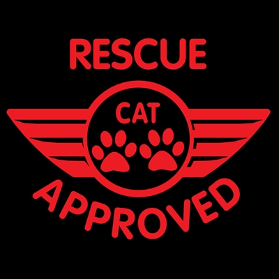 Rescue Cat Approved