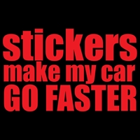 Stickers Make Car Faster