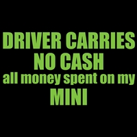 Driver Carries No Cash