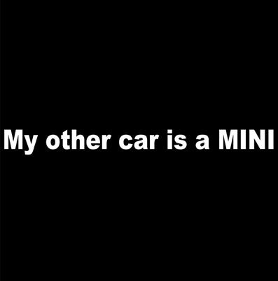 My other car is a MINI