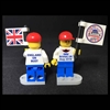 The IMM Bristol, UK 2019 LEGO Minifig Flag Boy