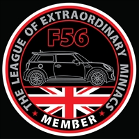 LXM F56 Decal or Grill Badge