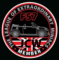 LXM GEN3 JCW F57 Decal or Grill Badge